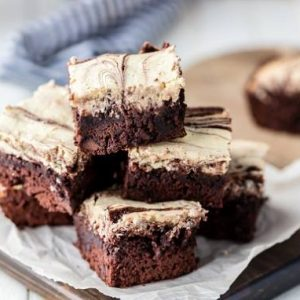 Kue Brownies Keju