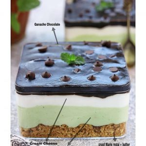 Kue Avocado Mousse Dessert Box