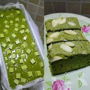 Brownies Matcha