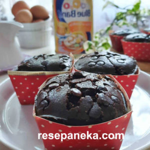 Chocholate Custard Muffins